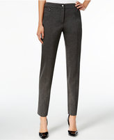 JM Collection Zip-Pocket Slim-Leg Pants, Only at Macy's