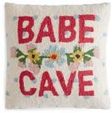 "Peking Handicraft Babe Cave Decorative Pillow, 16"" x 16"""