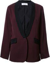 EN ROUTE shawl collar blazer