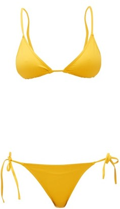 Eres Mouna Malou Triangle Bikini - Womens - Yellow