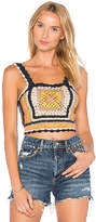 Tularosa x REVOLVE Angeli Tank Top in Navy. - size L (also in M,S,XS)