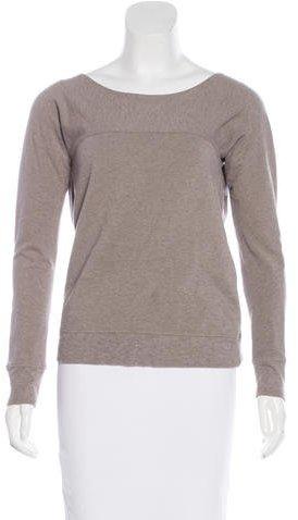 Maison Margiela Cutout Long Sleeve Sweatshirt