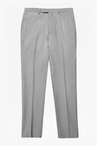 Slim Light Grey Suit Trousers