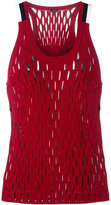 Joseph lattice top - women - Spandex/Elastane/Rayon - S