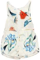 Mapletop Summer Sleeveless Tassels Romper Newborn Baby Girls Ethnic Style Bodysuit