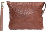 Will Leather Goods 'Opal' Large Grain Leather Wristlet
