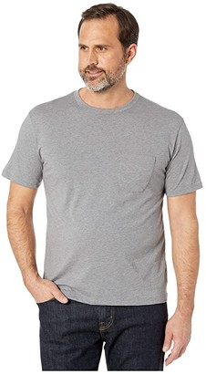 Richer Poorer Short Sleeve Pocket Tee (Cantaloupe) Men's Clothing