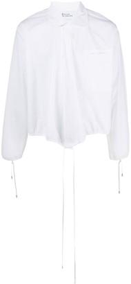 Telfar Tie-Hem Longsleeved Shirt