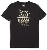 Under Armour Boy's Basketball Badge Heatgear T-Shirt