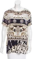 Mary Katrantzou Digital Print Short Sleeve T-Shirt