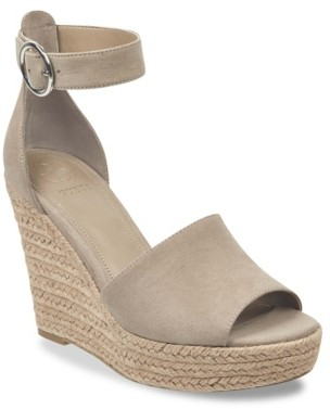 GUESS Haleey Espadrille Wedge Sandal