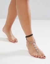Asos Wrap Around Charm Foot Chain