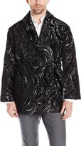 Robert Graham Men's Satin Lined Smoking Jacket, S/M