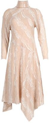 Proenza Schouler Woodgrain Print Dress