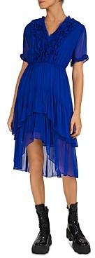 The Kooples Muslin High/Low Dress