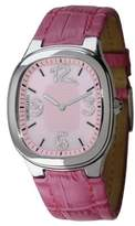 Morellato Capri SZ6016 Women's Analog Quartz Steel Watch with Pink Mother-of-Pearl Dial and Pink Leather Strap