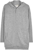 UGG Savannah Grey Hooded Cashmere Sweatshirt