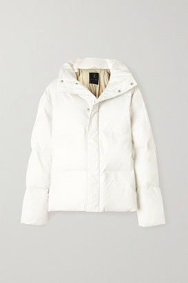 Rains Quilted Padded Shell Jacket - White