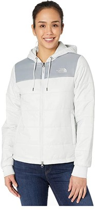 The North Face Pardee Insulated Jacket (Tin Grey/Mid Grey) Women's Clothing