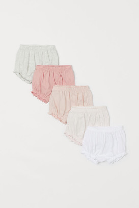 H&M 5-Pack Puff Pants