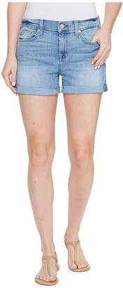 7 For All Mankind Women's Roll Up Short in Willow Ridge 24