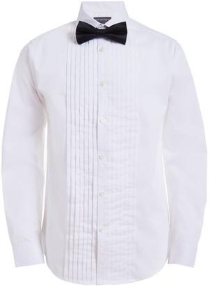 Van Heusen Boys 10-20 Husky Tuxedo Shirt & Bow Tie