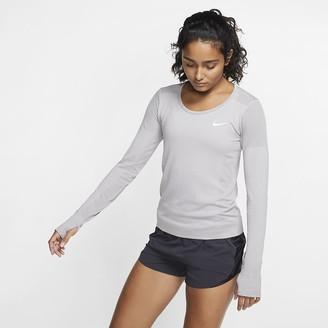 Nike Women's Long-Sleeve Running Top Infinite