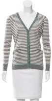 Autumn Cashmere Striped Cashmere Cardigan w/ Tags