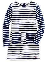 Vineyard Vines Girls' Mixed Stripes Shift Dress - Little Kid