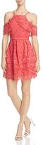 J.o.a. Cold-Shoulder Lace Dress - 100% Exclusive