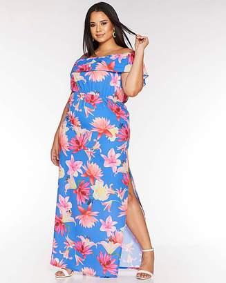 Bardot Quiz Curve Maxi Dress