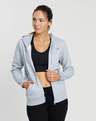 New Balance Fleece Full-Zip Hoodie