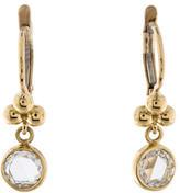 Temple St. Clair 18K Rose Cut Diamond Drop Earrings