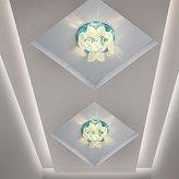 FDH Creative led Crystal light corridor the corridor lamp ceiling light porch light Foyer lighting lamps, 100mm