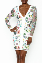 LIFTED Boutique Floral Embroidered Dress