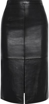 Iris & Ink Emelia Leather Pencil Skirt