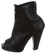 Barbara Bui Perforated Ankle Boots