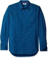 William Rast Men's Gage Printed Button Down Shirt