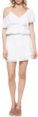 Paige Cecelia Cold Shoulder Mini Dress