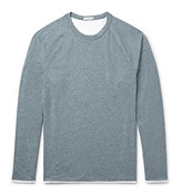 James Perse - Mélange Cotton-blend Jersey T-shirt