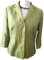 Marc Cain Green Silk Jacket for Women