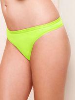 Victoria's Secret Cotton Lingerie Thong Panty