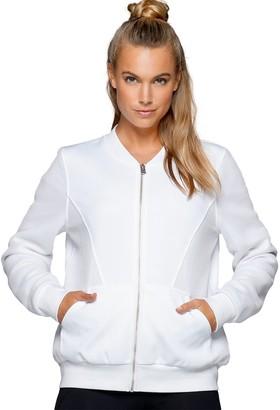 Lorna Jane Women's Take The Leap Jacket - White -