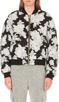 Drifter Floral-jacquard bomber jacket