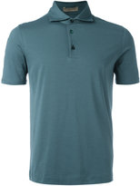 Cruciani classic polo shirt - men - Cotton/Spandex/Elastane - 48