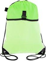 Mato & Hash Drawstring Cinch Bag Backpack With Mesh Pocket Tote Sack 3PK