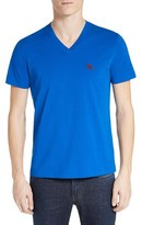 Burberry Men's 'Lindon' V-Neck Cotton T-Shirt