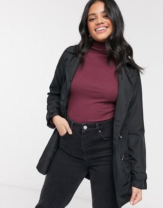 Brave Soul blair lightweight mac jacket