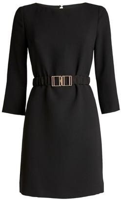 Claudie Pierlot Belted Midi Dress