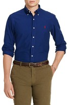 Polo Ralph Lauren Garment-Dyed Slim Fit Button-Down Shirt